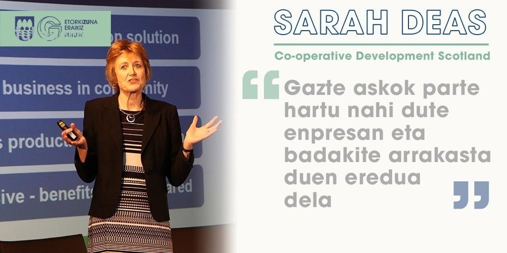 Sarah Deas Basque Country