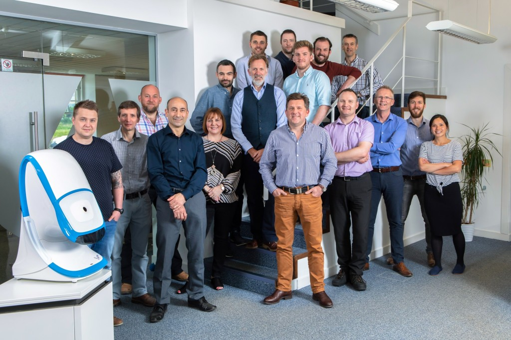 I4 Product Design, Edinburgh Image shows directors and staff of i4 Product Design at their Edinburgh headquarters. Taken 23-05-18