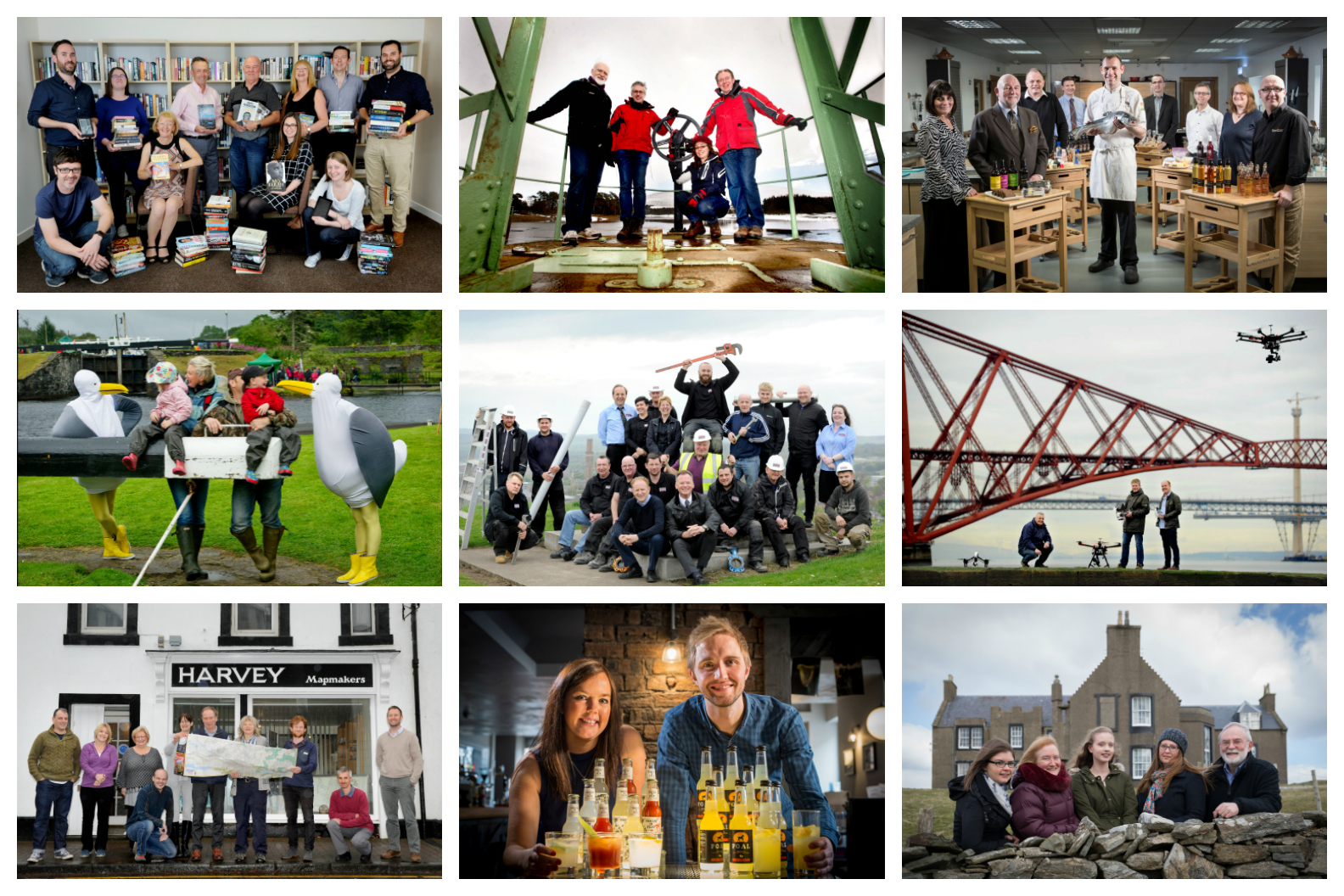Some of Scotland's consortium co-operatives, community co-operatives and employee-owned businesses