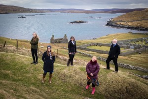 The ESPL Regulatory Consulting team at their Shetland location.