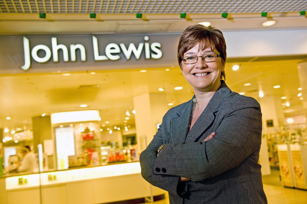 Kim Lowe, managing director of John Lewis Glasgow