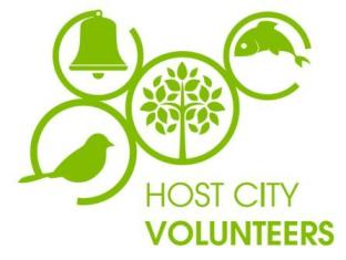 Host City Volunteers logo