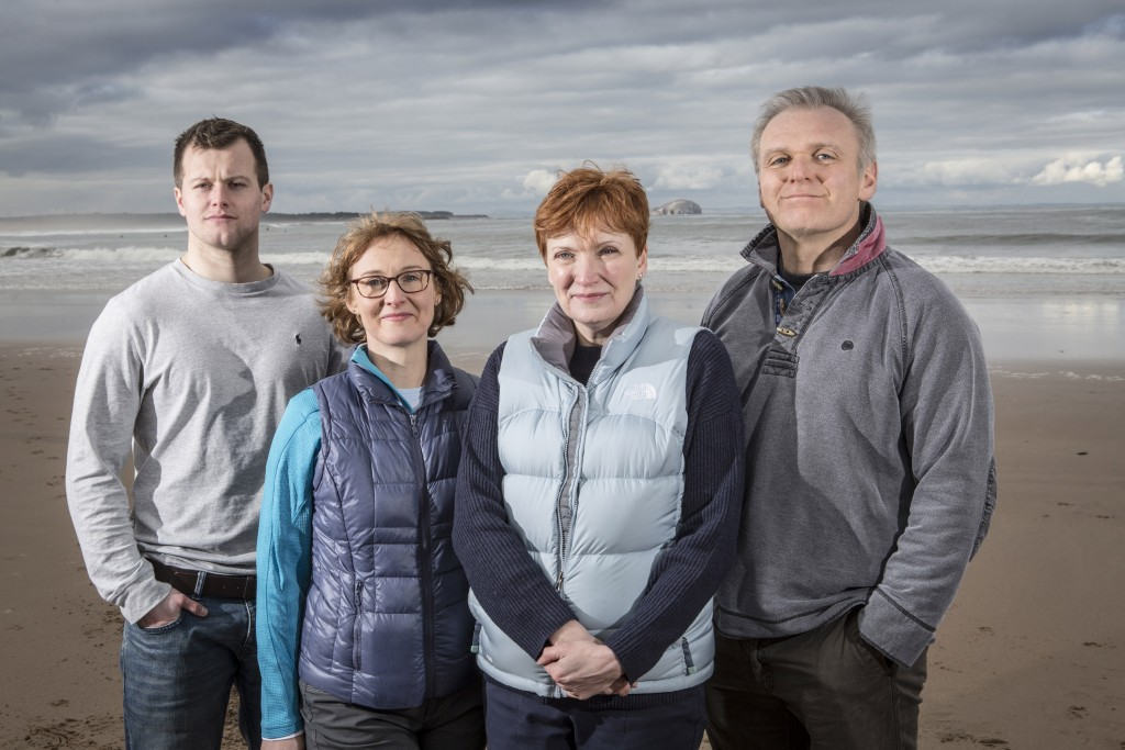 Healthworks Consortium, L-R Niall Gosman, Marney Ackroyd, Karen Davidson, Kevin Dewar