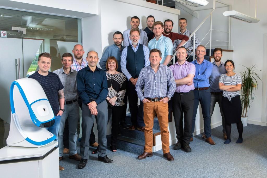 I4 Product Design, Edinburgh Image shows directors and staff of i4 Product Design at their Edinburgh headquarters. Taken 23-05-18