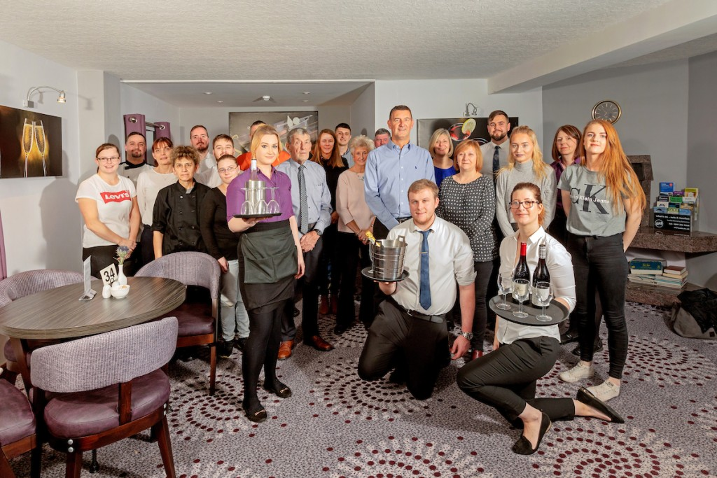 The Priory Hotel staff