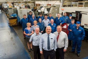 The GS Brown Precision Engineers Ltd team